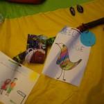 Erinnerungsstücke der Kindertrauergruppe der Paria-Stiftung