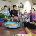 Eltern-Kind-Kochgruppe