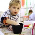 Kreativangebot für Trennungskinder bei der Paria Stiftung