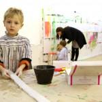 Kunst hilft Kindern, ihre Situation zu verarbeiten.