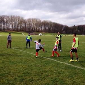 Trainieren beim 1. FC Köln