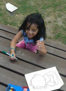 Malen macht immer Spaß bei der Paria-Stiftung
