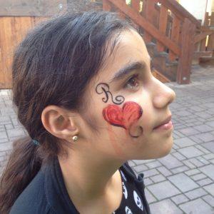 Kinderschminken für unsere Kids der Paria Stiftung im Phantasialand