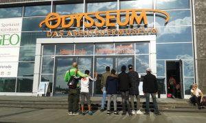 Ausflug ins Odysseum mit der Paria Stiftung