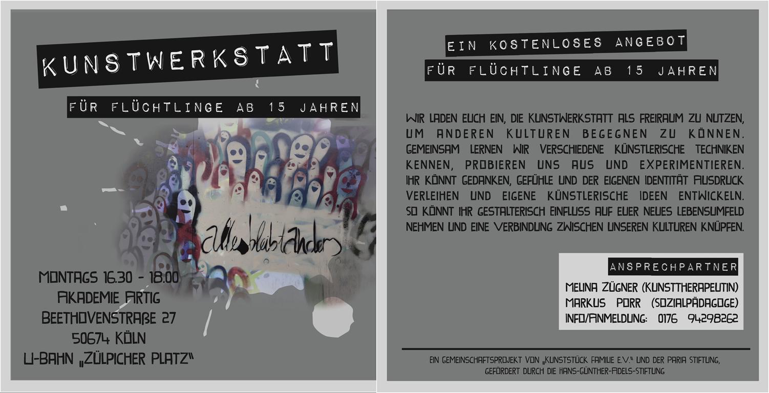 kunstwerkstatt_fuer_fluechtlinge_flyer_paria-stiftung