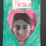 Zusammen malen und basteln bei der Paria Stiftung.