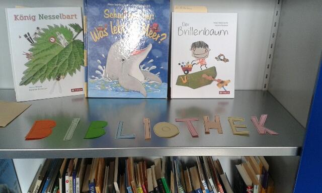 Paria Bibliothek im Flüchtlingswohnheim