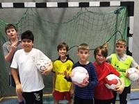 Unsere Süd-Kicker bei der Paria Stiftung