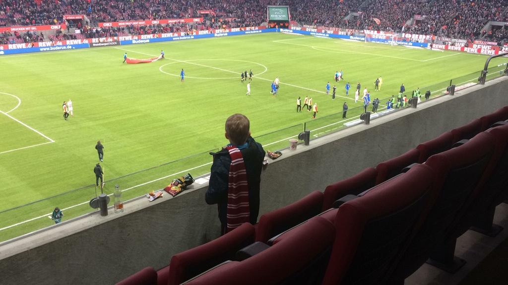 Spannendes Erlebnis für unsere Paria Kids beim FC Köln.