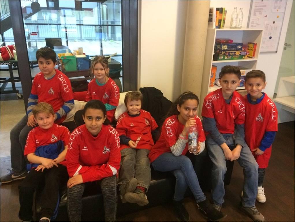 Unsere Paria Pänz bei der FC-Sportwoche.