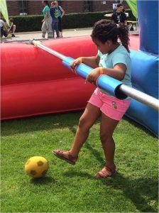 Paria Stiftung hatte Spaß beim Stadionfest