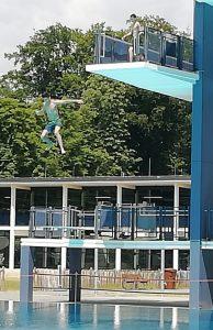 Ausflug mit Paria-Kids ins Stadionbad