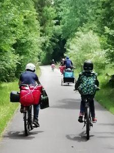 Fleißig treten bis zum Campingplatz - Paria-Ausflug in die Eifel.