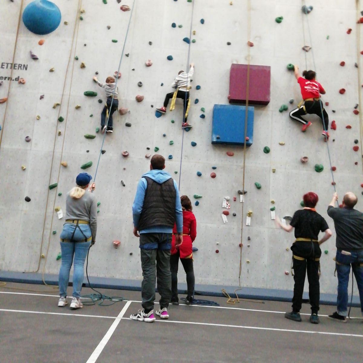 Let's rock it – Kletterspaß statt Online-Verdruss