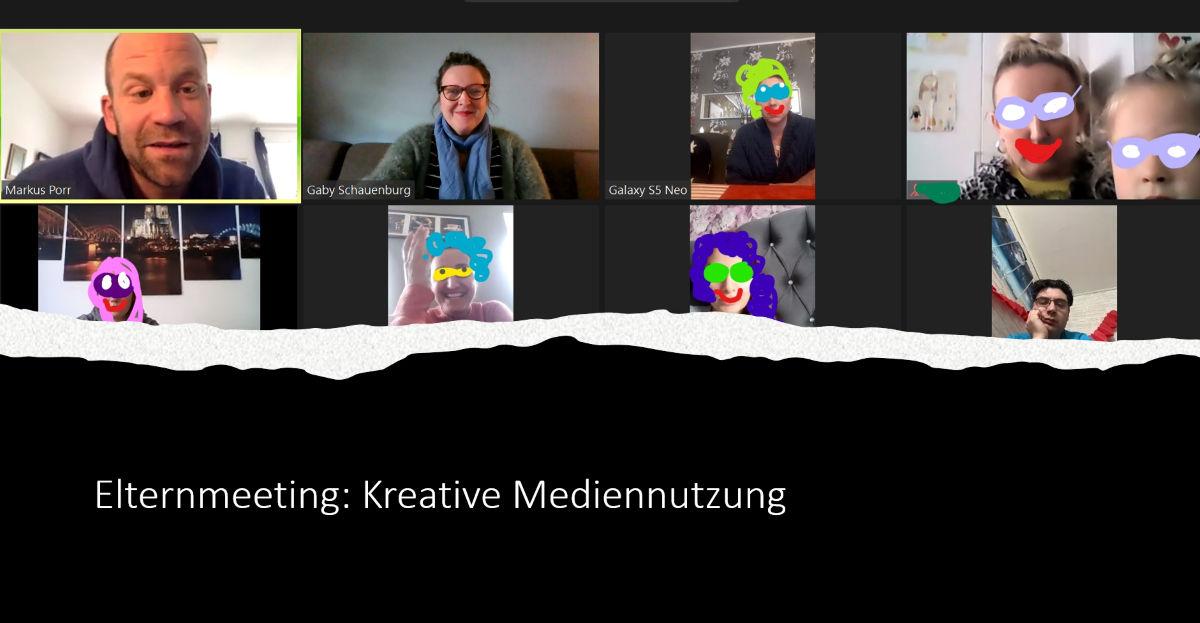 "Kreatives aus dem Netz – Online-Elternschulung ""Internetsicherheit"""
